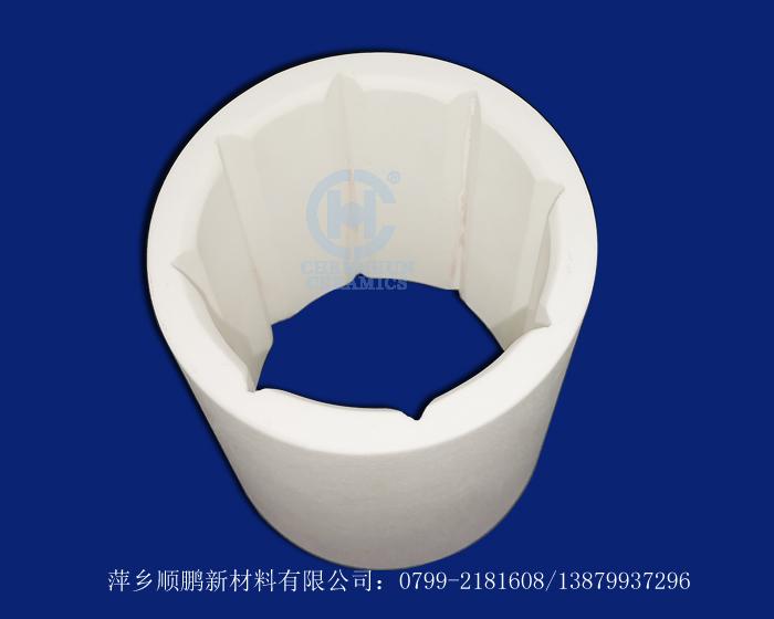 氧化铝陶瓷异形瓷管